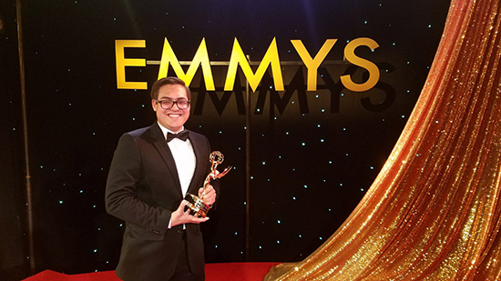 Alumnus Wilfred Rodriguez wins emmy