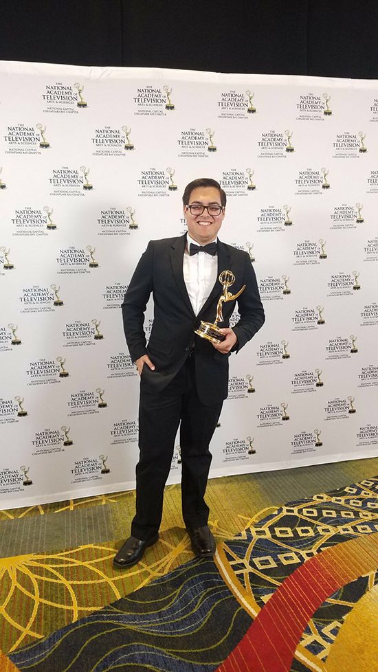 film alumnus Wilfred Rodriguez wins emmy