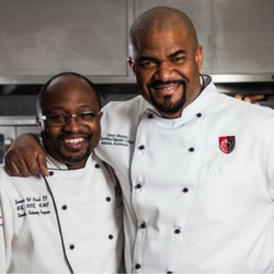 Chef James Paul and Master Chef Daryl Shular