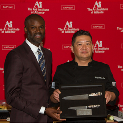 Ai Atlanta President with Chef Fuyuhiko Ito of Umi Buckhead