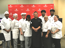 Chef Ito with Ai Atlanta Students at Culinary Week 2017