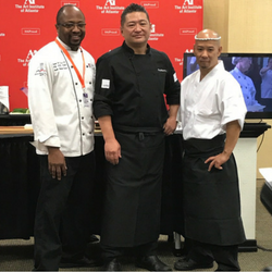 Culinary Chair Chef James Paul with Chef Fuyuhiko Ito