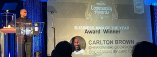 Carlton Brown Recognized at AGLCC Annual Awards Dinner