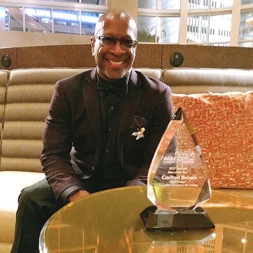 Chef Carlton Brown Named 2017 Business Man of the Year by AGLCC