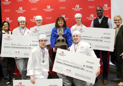 Southeast Bulloch Culinary Arts Hot Food Team Winner for GA ProStart Competition