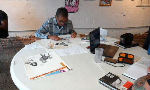 Animation Student Showcases Work at Local Art Museum in Atlanta