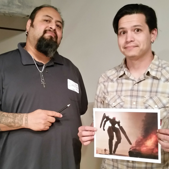 Illustration Student Wins Award at AIGA GA Chapter 8th Annual Pin-up Show