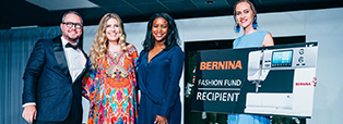 Nina Means Receives 2017 BERNINA Fashion Fund