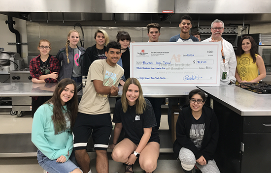 Burnet High School Receives Donation From The Art Institute of Austin