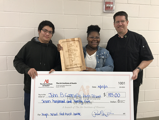 John B. Connally High School Receives Donation From The Art Institute of Austin