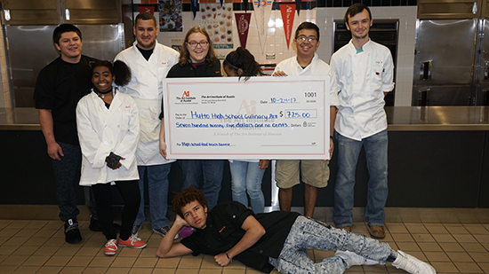 Hutto High School Receives Donation From The Art Institute of Austin