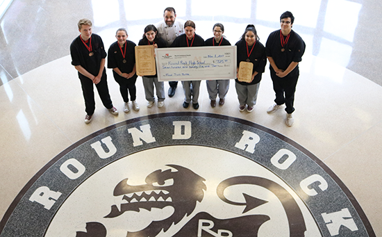 Round Rock High School Receives Donation From The Art Institute of Austin