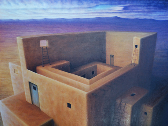 New Mexican Walls by Marlene Llanes