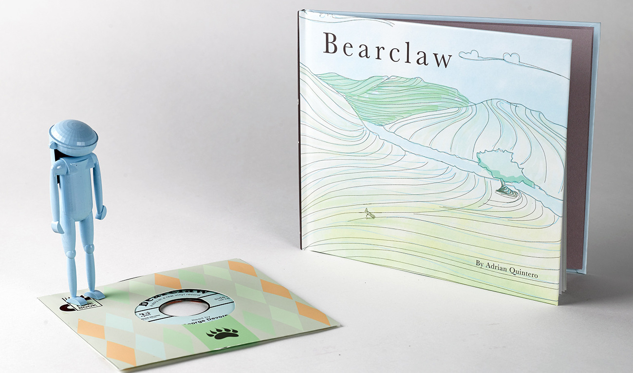 Bearclaw Book and Vinyl by Adrian Quintero