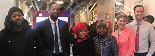 """Faculty members from The Illinois Institute of Art—Chicago participated in NBA player Dwayne Wade's """"Spotlight On event."""