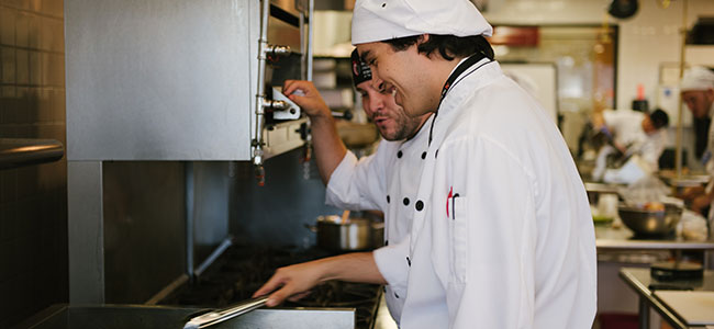 Students Working at The Art Institute of Dallas Culinary Arts School