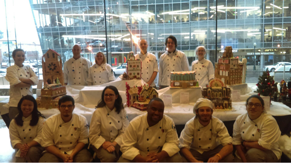 The Art Institute of Colorado Gingerbread Team