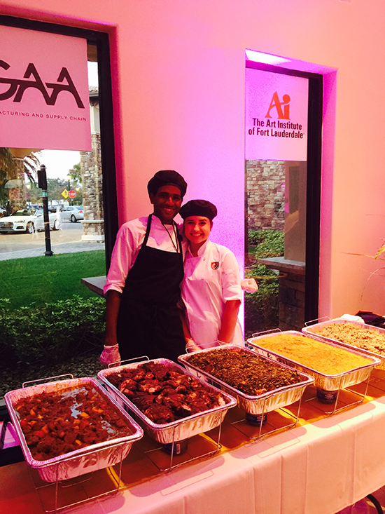 Art Institute Culinary, The Art Institute of Fort Lauderdale students, students, food