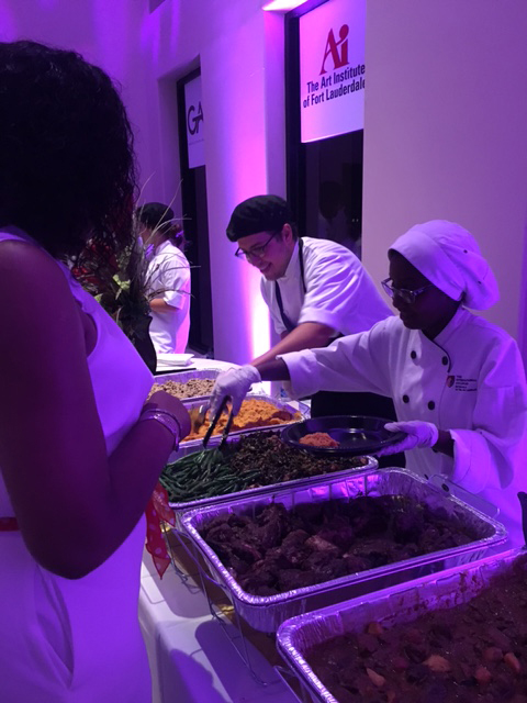 culinary, serving, food, Art Institue of Fort Lauderdale culinary