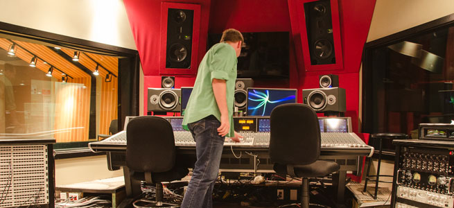 Audio Production School at The Art Institute of Houston