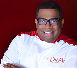Executive Chef of the Houston Rockets, Reynold Darthard