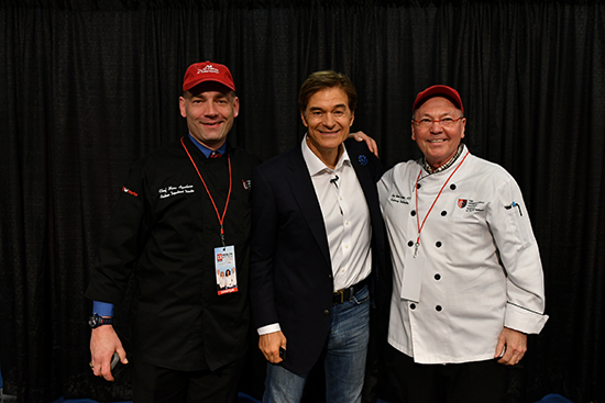 Dr. Oz & Culinary Director & Culinary Faculty