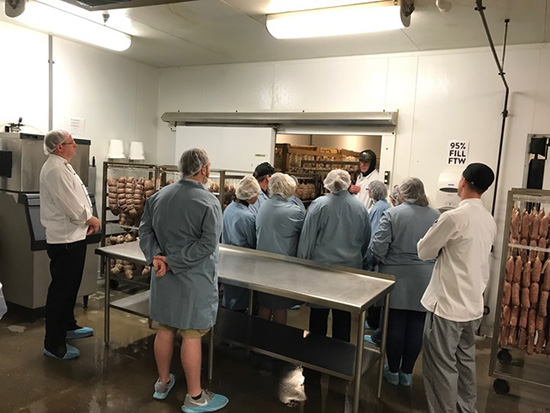 Ai Indy students from Garde Manger class