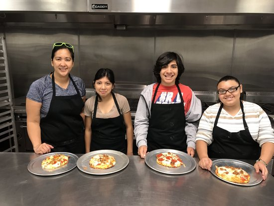Pizzas with Arroyo Valley HS