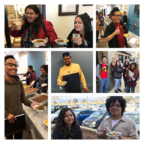 AiCAIE Welcome Back BBQ January 2018 Collage