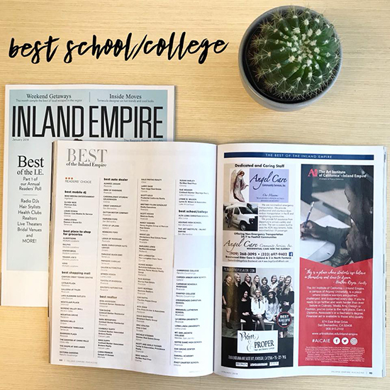 AiCAIE receives Best of Inland Empire 2018