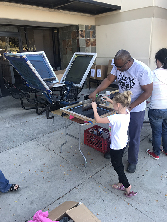 Blackbook Sessions #26 screen printing