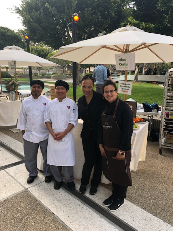 AiCAIE Culinary Students at the 2018 LA Times Food Bowl