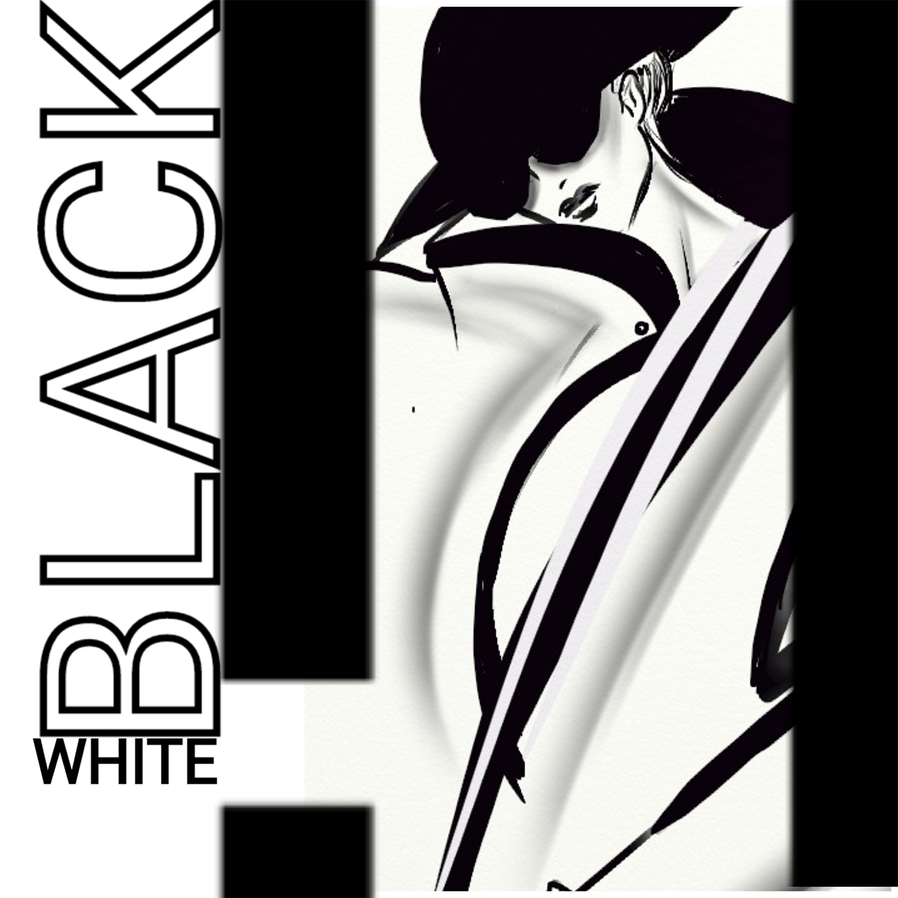 Artwork White Black - Razack