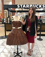 Chocolate Festival - Melted Chocolate Dress