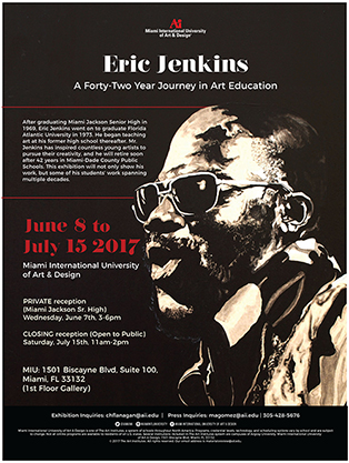Eric Jenkins - A forty-two Year History in Art Education