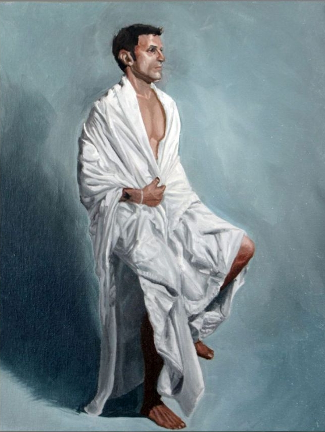 Painting,man in robe