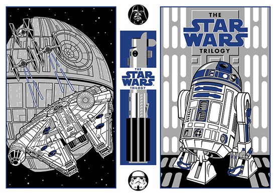 Star Wars poster created by Paul Girard