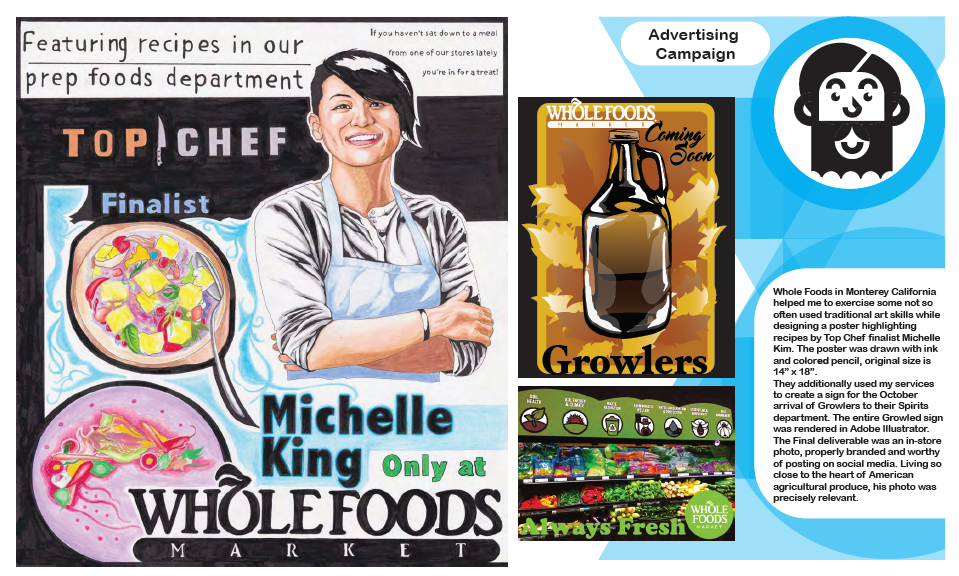 Advertising Campaign design, Whole Foods