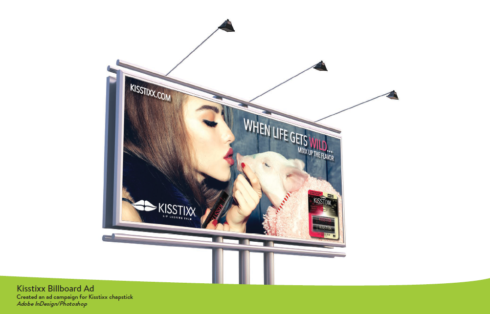 Kisstixx Billboard Ad