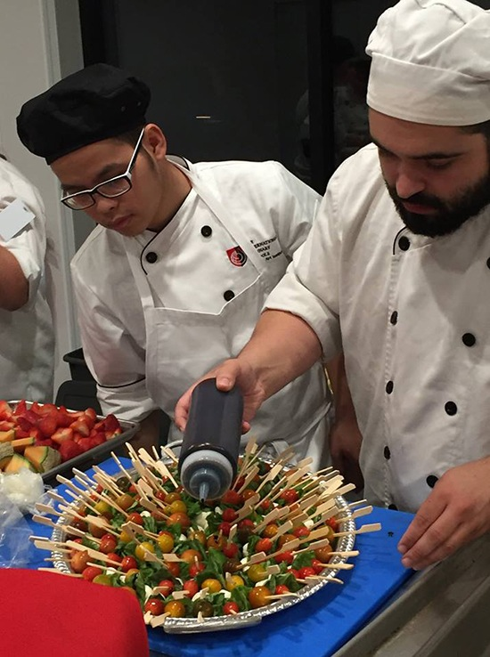 Ai Orange County Culinary Prep for First Responders Celebration in Costa Mesa