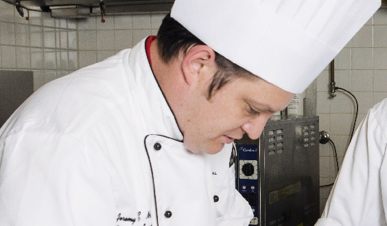Chef Instructor Jeremy Reed