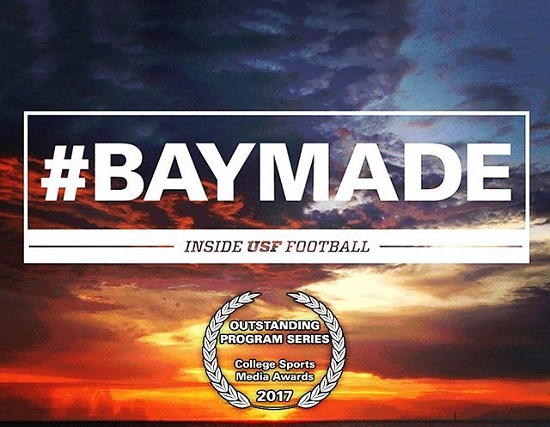 Awesome Films Mike Szivos SVG Awarded #BAYMADE University of South Florida Football USF