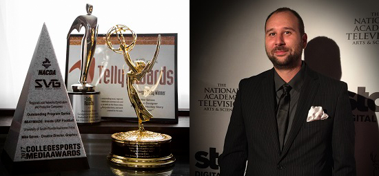 Awesome Films Mike Szivos Emmy Telly SVG Award Winner