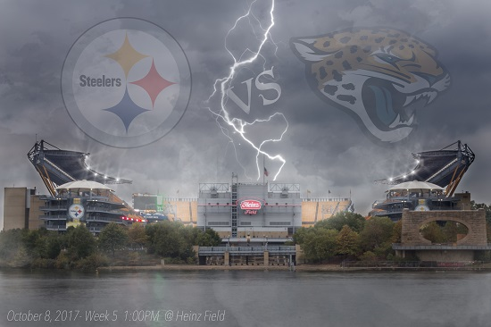 NFL Pittsburgh Steelers vs Jacksonville Jaguars