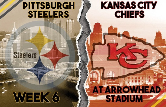 NFL Pittsburgh Steelers vs Kansas City Chiefs