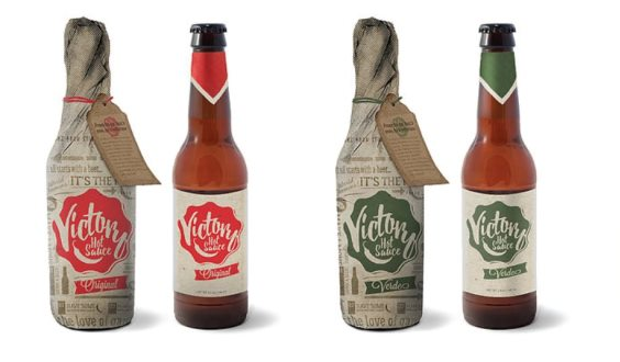Thumbnail of hot sauce bottles with proposed package design
