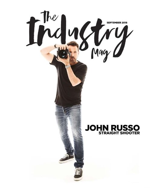 """John Russo on """"The Industry Mag"""" cover"""