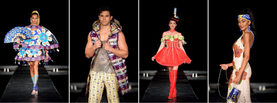 MIU Fashion Design Students Turn Up the Heat with Couture Collection for Goya Foods