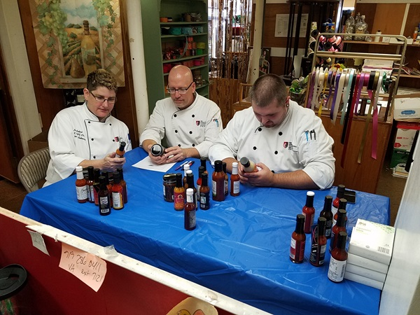 Raleigh-Durham Students and Faculty Judge Hot Sauce Contest