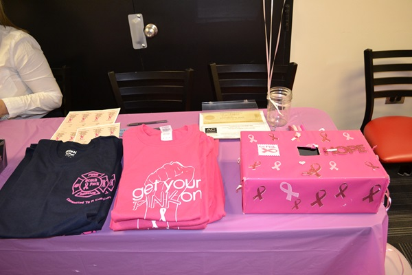 """""""Think Pink"""" Culinary Event Raises $1300; Students to Present Check to Susan G. Komen Chicago"""